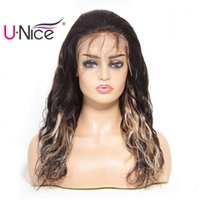 UNice Bettyou Series Lace Front Wigs Brazilian Natural Wave ...