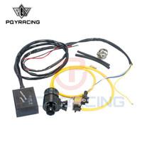 PQY RACING - Nieuwe elektrische diesellaaflaat met hoorn buiten / diesel Dumpventiel / Diesel BOV met hoorn PQY5011W + 5743