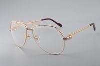 Óculos de sol de alta qualidade de melhor venda, atmosfera de alta qualidade elegante, óculos de sol de gravação exclusiva 1324912-A Tamanho: 59-15-140mm
