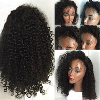 Kinky Curly Full Lace Human Hair Wigs for Black Women Factor...