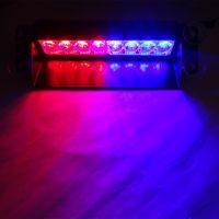 12 В 8 LED Красный Синий Желтый Белый Строб Сигнальная лампа Пожарные Полиция светодиодные Мигающие аварийные сигнальные огни Противотуманные фары