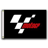 [علم جيد] MotoGP Flags 3X5FT 150X90CM 100٪ بوليستر ، رأس قماش مع جروميت معدني ، يستخدم في الداخل أو في الهواء الطلق