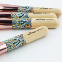 Makeup Brushes 12PCS Set Bamboo Make Up Brush Soft Synthetic...