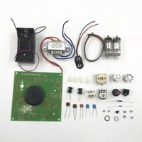 Free shipping! High quality DC two lamp PCB Board tube radio...