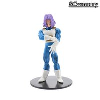Dragon Ball Super Trunks Torankusu Risoluzione di Soldiers Vol .5 Dbz Super Saiyan Pvc Action Figure Model Toy 18cm