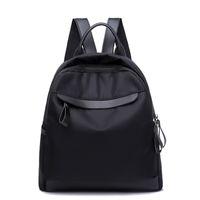 패션 여성 블랙 배낭 미라 기저귀 가방 간단한 캐주얼 다기능 여행 핸드백 지퍼 어깨 너비 가방 MBG0104
