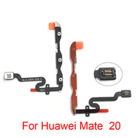 Nueva cinta de llave lateral probada para Huawei Mate 20 lite Power Volume Switch On Off Button Reemplazo del cable flexible Soare parts
