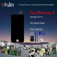 For iPhone 5 5G Grade A + + + Black LCD Display With Touch Scr...