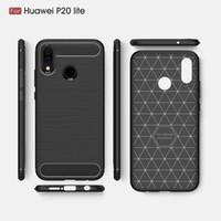 2018 новые случаи мобильного телефона для Huawei P20 Lite роскошные углеродного волокна сверхмощный чехол для Huawei P20 Lite обложка Бесплатная доставка DHL
