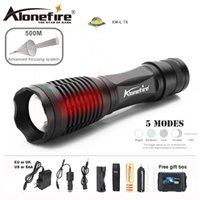 Alonefire E007 CREE XM- L T6 5000Lm Rechargeable LED Flashlig...
