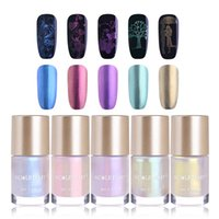 wholesale Mermaid Series Stamping Polishes Set 9ml Shell Nai...