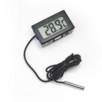 Mini Digital LCD Sonda Aquarium Frigorífico Termômetro Termômetro Medidor de Temperatura para Frigorífico-50 ~ 110 Graus LX3398