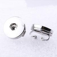 12mm 18mm Druckknopf Zubehör Erkenntnisse Metallknopf zu DIY Snap Armband Halskette Snap Schmuck machen