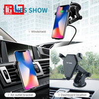 Wireless Charger Fast Charger Car Holder Mount Air Vent Stan...