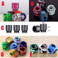 New Arrival Carbon Fiber TFV8 Drip Tips 810 Stripes Camo Mus...