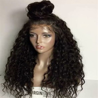 free shipping Water Wave Full Lace Wigs Lace Front Wigs Baby...