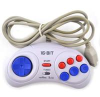 Controller di gioco per SEGA Genesis per impugnatura a 16 bit Gamepad per MD Accessori di gioco Porta turbo e funzione lenta