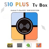 Android 8. 1 Tv Box S10 Plus RK3328 4GB 32GB Quad- Core Built ...