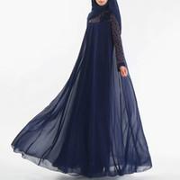 ファッションイスラム教徒のドレスAbayaイスラム服女性マレーシアjilbabジェラバローブムスリューマントルコバフ香野カフタンチュニック