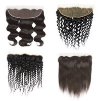 Brazilian Human Hair Extensions Unprocessed Stright Frontal ...