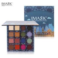 IMAGIC многоцветный 16 цвет мерцание блеск тени для век палитра порошок матовый тени для век косметический макияж brochas maquillaje
