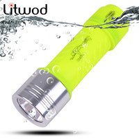 New LED flashlight 2000LM CREE T6 LED Waterproof underwater ...