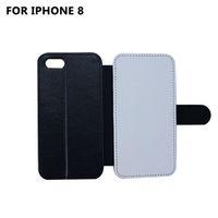 التسامي التسامي محفظة الوجه تغطية ل iPhone X 8 8 زائد 7 7plus 6 6plus التسامي تغطية المحفظة ل 6 حالات فون