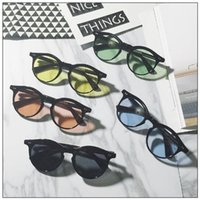 Fashion Round Rivets Sunglasses Women Designer Classic Men R...
