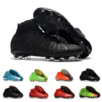 Cheap Mens Best Quality Ankle FG Soccer Cleats Hypervenom Ph...