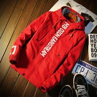 Asstseries kış Kırmızı ceketin bir erkek ince kış ceket erkek su geçirmez erkek taktik askeri ceket uzun kollu kış ceket