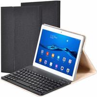 무선 블루투스 키보드 PU 가죽 커버 화웨이 MediaPad M3 Lite에 대 한 보호 케이스 10 BAH-W09 BAH-AL00 10.1 인치 태블릿 케이스