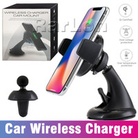 2 in 1 Wireless Car Charger 360 Degree Rotation Car Mount Ho...