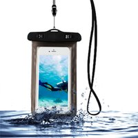 للماء الهاتف الحقيبة العالمي تحت الماء PVC واقية الهاتف المحمول حقيبة الجافة آيفون XR / XS / X 8/7/6 بالاضافة الى ملاحظة سامسونج 8 / S8 + / S8 XIAOMI