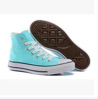جديد Size35-46 جديد للجنسين المنخفضة أعلى عالية أعلى الكبار المرأة الرجال نجمة قماش أحذية 15 ألوان المزينة يصل عارضة الأحذية حذاء رياضة التجزئة