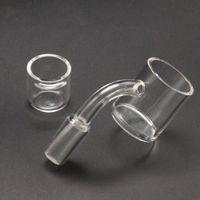 Atacado 30mm xxl plano de quartzo plano de quartzo com inserção 4 mm de fundo espesso Cubeta desaparecida 10mm 14mm unhas do Graal masculino de bongos de nariz