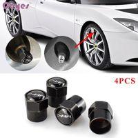 Accessori per auto Valvole da pneumatici per Toyota C-HR Distintivi Rav4 Corolla Avensis Camry Auris Prius Yariswheel Pneumatico Pneumatico Air Caps Air Styling 4pcs / lot