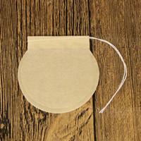 100 шт. Шнурок Чайный пакетик Фильтровальная Бумага Пустой Чай Пакетики для вкладыша Чай Порошок Травы Ситечко