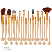 20PCS Beauty Makeup Brushes Set Eye shadow Eeybrow Eyeliner ...
