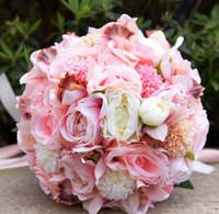 Ebedi Melekler Yeni Düğün Malzemeleri Yeni Avrupa Sürümü Güller Gelinler Buketleri