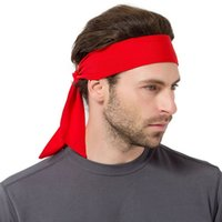Men Women Tennis Bandana Running Headband Gym Sweatband Fitn...