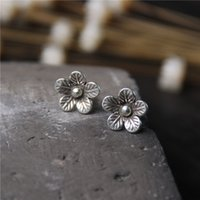 designer jewelry fashion 925 sterling silver stud earrings H...