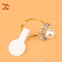1200pcs Round Ring Jewelry Sticky Retail Price Label Display Tag Self-Sticker Tool