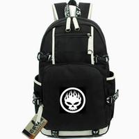 Offspring Rucksack DEXTER HOLLAND Backpack Punk Punk Rock Schoolbag Music Knaxackack Компьютерная Daypack Sport School Bag Out Day Day Pack