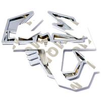 실버 합금 3D 전갈 자리 방패 모양 배지 스티커 자동차 뒷문 FIAT ABARTH TC Boano Simca Berlinerta 알파 로미오에 대 한 후면 엠 블 럼