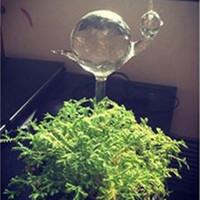 Kreativität automatische Anlage Bewässerungsvorrichtung Glas Schwan Form Bewässerung Haushalt Garten-Blumen-Anlage Waterers Tropfbewässerung Werkzeug
