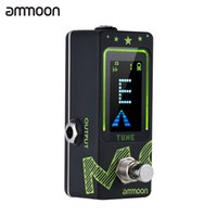 ammoon PT- 22 Mini Rechargeable Tuner Pedal LCD Color Display...