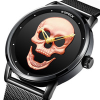 Luxury Brand Business Men Watches Sports Black Skull Watches...