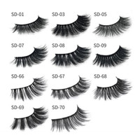 Milk Eyelash 11 styles Selling 1pair lot 100% Real Siberian ...