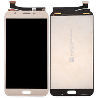 5.5 Ekran Samsung Galaxy J7 V için LCD Ekran J727V J727P J727 Yedek Parçalar Siyah