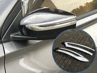 Höherer Stern ABS Chrom 2pcs Auto Seitentürspiegel Dekoration Schutzbesatz, Blinkerlichtverkleidung für Nissan Kicks 2016-2018